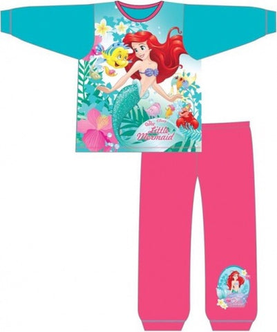 DISNEY PRINCESS 'Ariel' Long Cotton PJ's