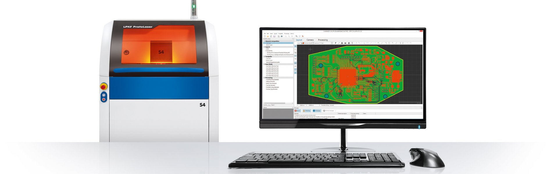 Intelligent Software for PCB Prototyping