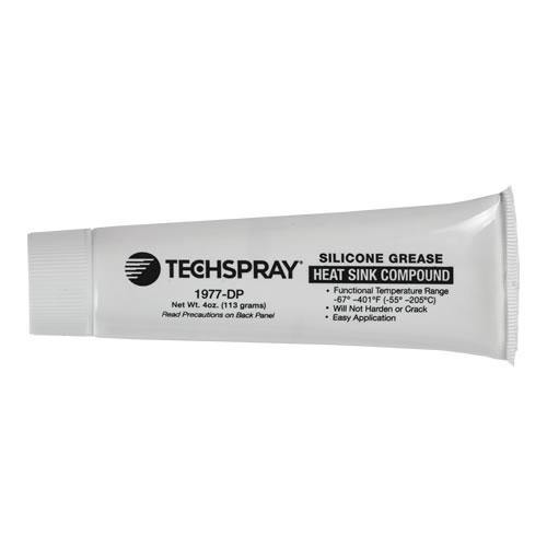 Techspray Silicone Grease 4 Oz 118ml squeeze tube