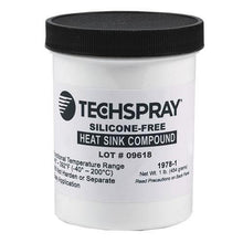 Load image into Gallery viewer, Techspray Silicone-Free Heat Sink Compound 1 pound jar, 12 jars / case