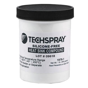 Techspray Silicone-Free Heat Sink Compound 1 pound jar, 12 jars / case