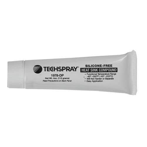 Techspray Silicone-Free Heat Sink Compound 4 oz. tube, 24 tubes / case