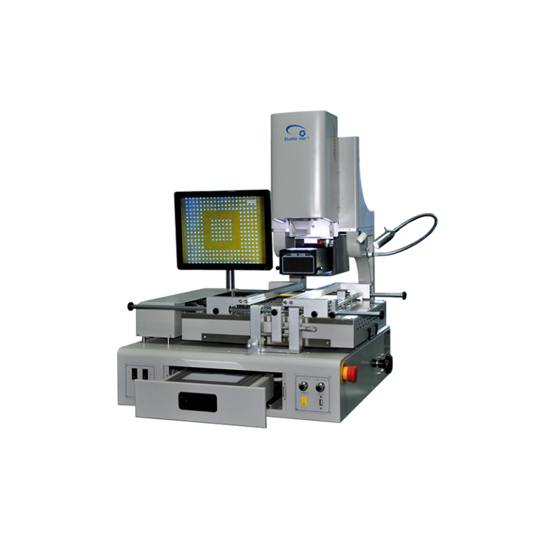 ShuttleStar SV650 Semi-Auto Optical BGA Rework Station