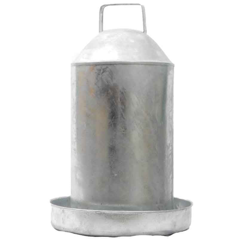 Galvanised Drinker (3 gallon/13 litre)