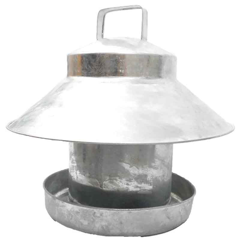 Top Hat Galvanised Feeder (6kg)