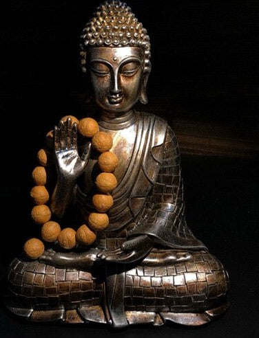 Decorative Bronze Buddha Statue - Rari Luxuries