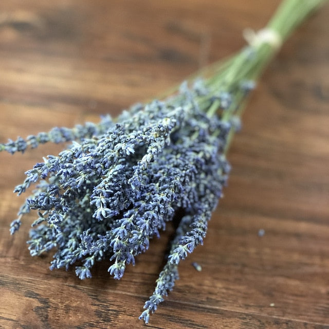 30 Lavender Stems -  Real Dried Lavender Flower Branch - Rari Luxuries
