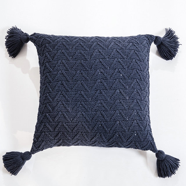 Soft Knit Cushion Covers - Rari Luxuries
