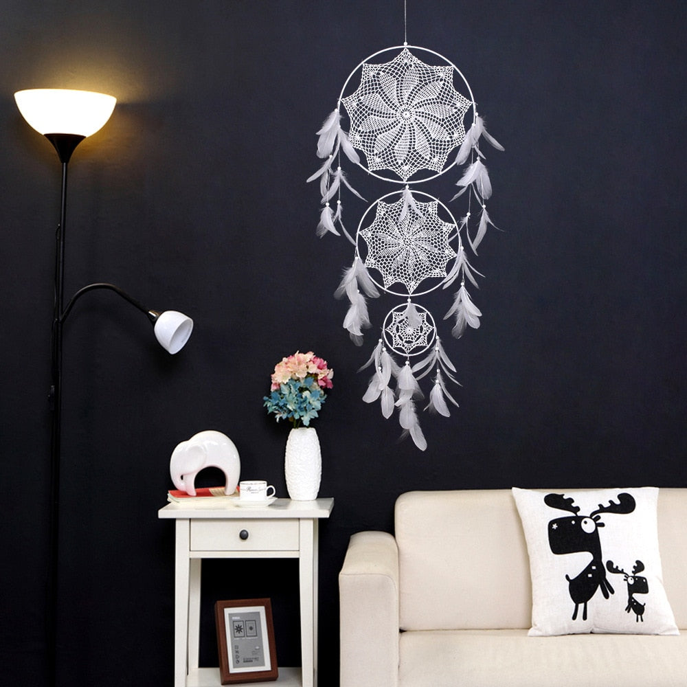 Large Dreamcatcher  - Nordic Style Wall Art - Rari Luxuries