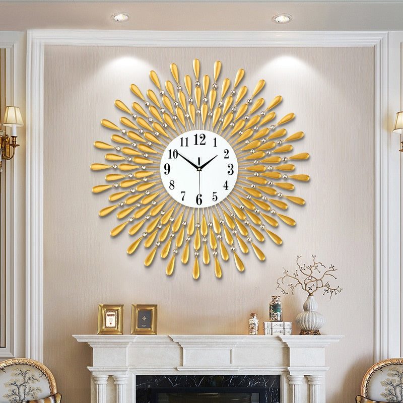 3D Large Wall Clock - Rari Luxuries