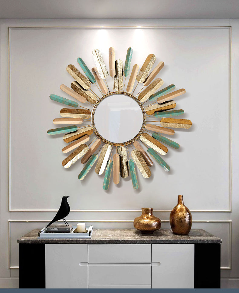 Wall-Mounted European Mirror - Rari Luxuries