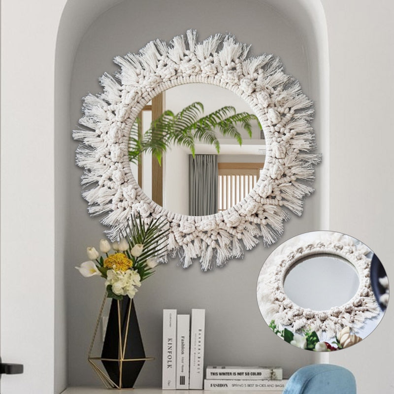 Boho Wall Mirror - Rari Luxuries
