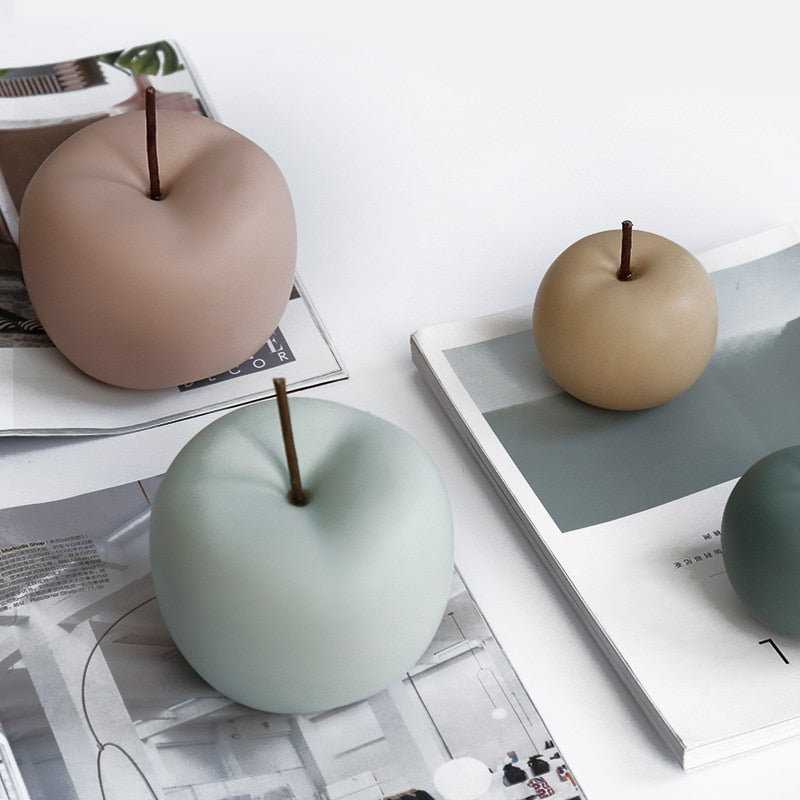 Decorative Pastel Apple Decor - Rari Luxuries