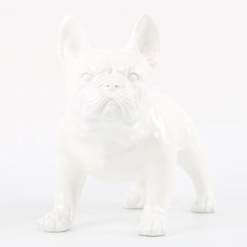 Decorative Dog Statues -  Cute French Bulldog - Rari Luxuries
