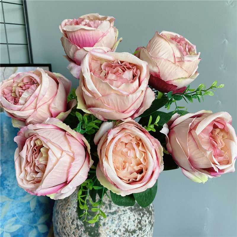 Large Rose Peony Bouquet - Rari Luxuries