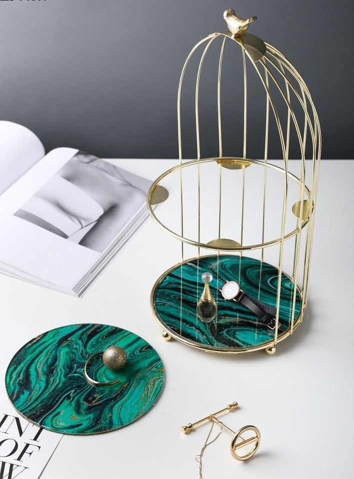 Bird Cage Style - Storage / Serving Tray - Rari Luxuries
