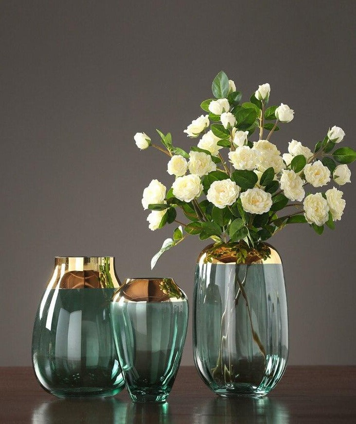 Nordic Glass Vases - Rari Luxuries