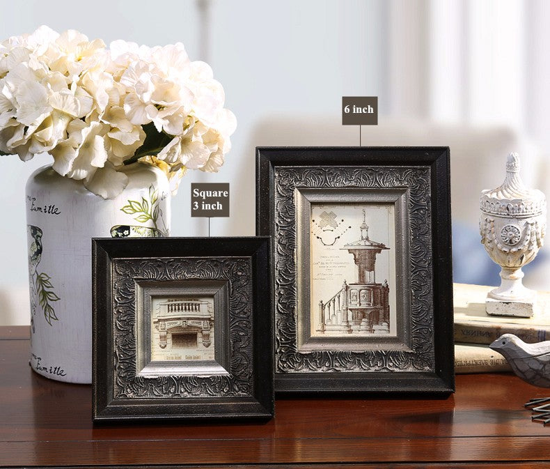 Luxury Black Photo Frames - Rari Luxuries