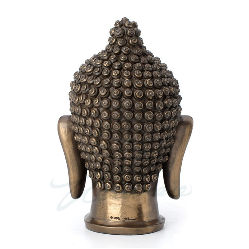 Elegant Buddha Head Statue - Rari Luxuries
