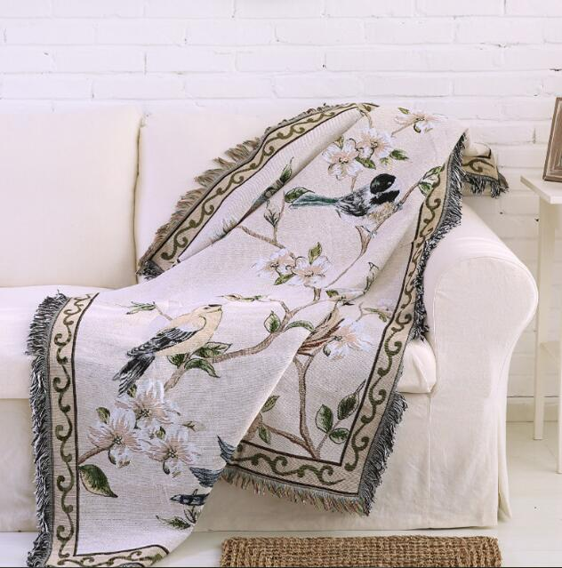 Vintage Style Throw - Rari Luxuries