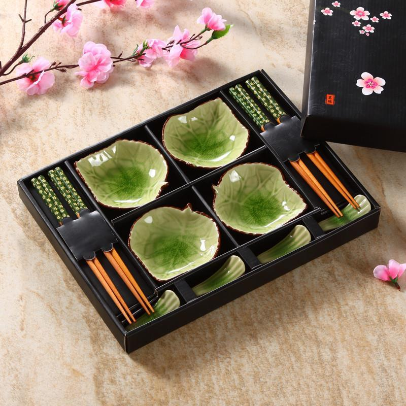 Decorative Sushi Tableware Set With Gift Box - Rari Luxuries