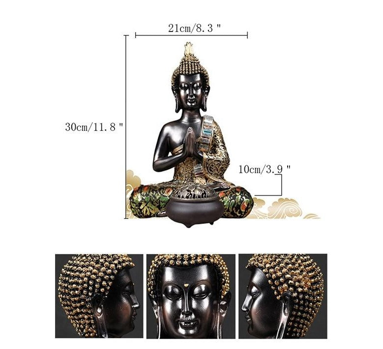 Buddha Sitting Statue - Rari Luxuries