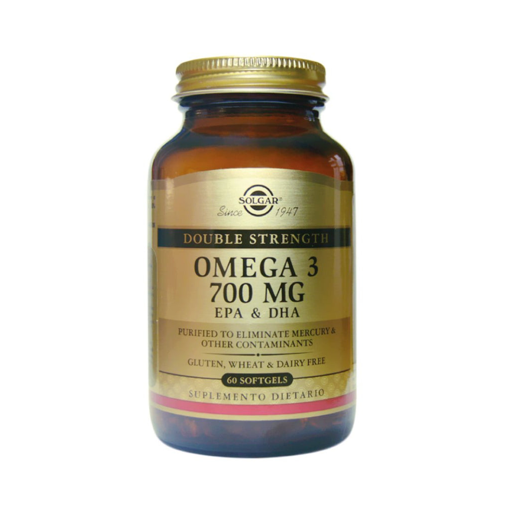Omega -3 700mg Double strength Solgar® / 60 cápsulas - CereArt