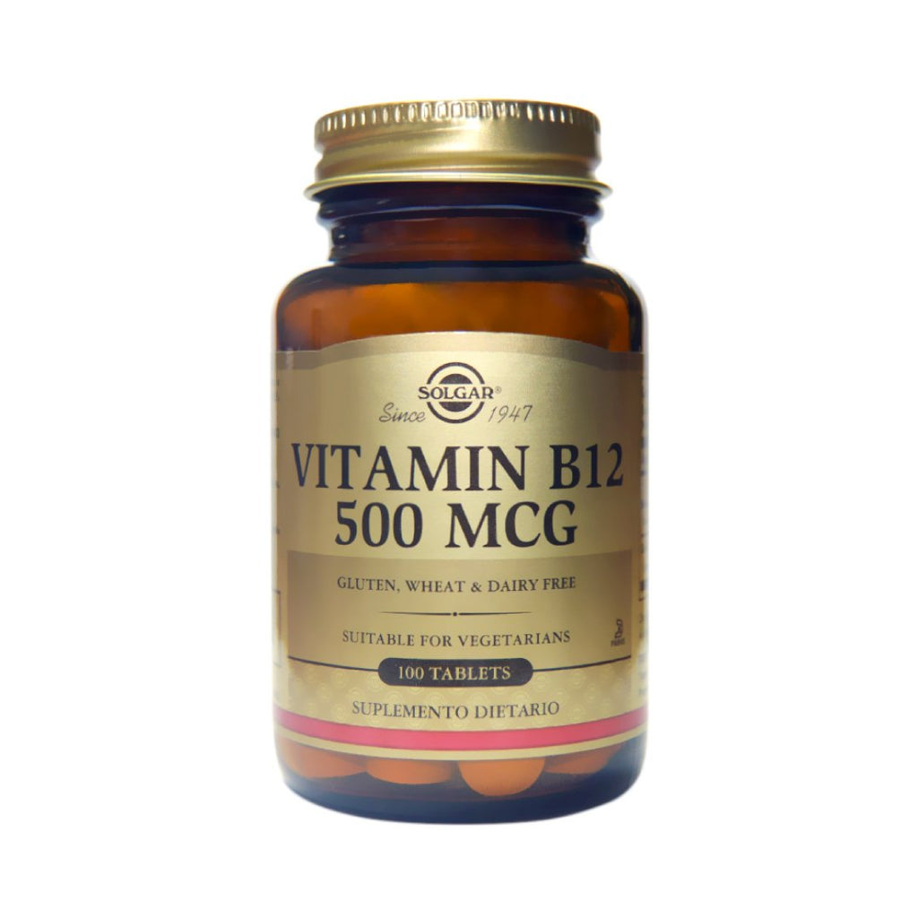 Vitamin B12 500 mcg Solgar® / 100 tabletas. - CereArt