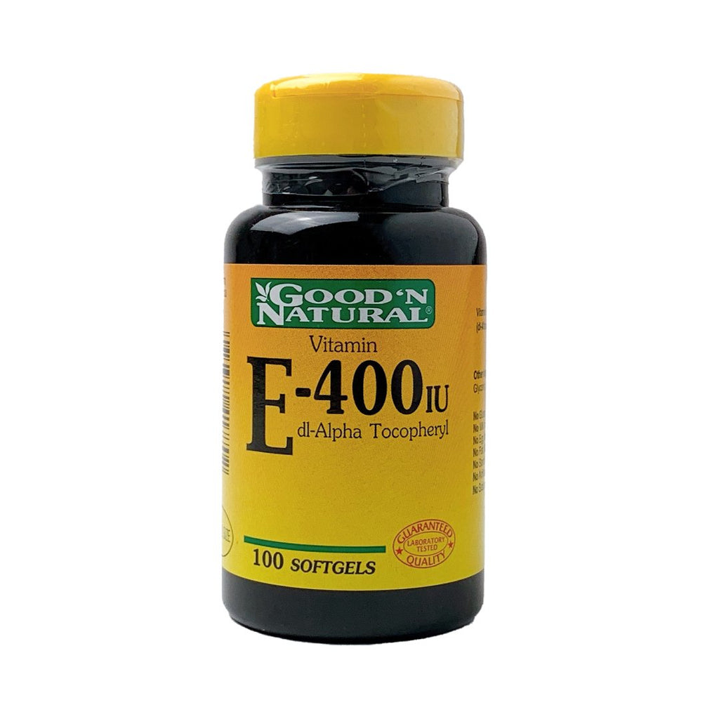Vitamina E 400 IU Good´n natural® / 100 cápsulas - CereArt