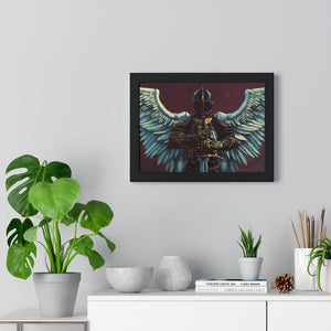 Michael | Premium Wood-Framed Poster