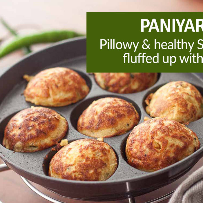 Panniyaram – Pillowy and healthy snack,fluffed up with love