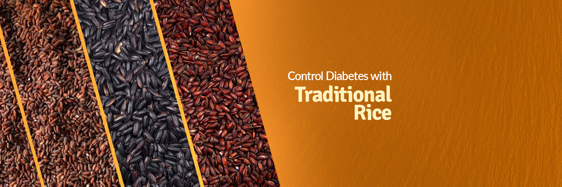 A Bowl of traditional rice controls diabetes