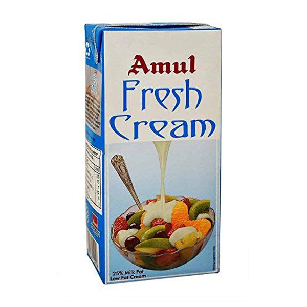 Amul Fresh Cream UHT Milk- 1ltr