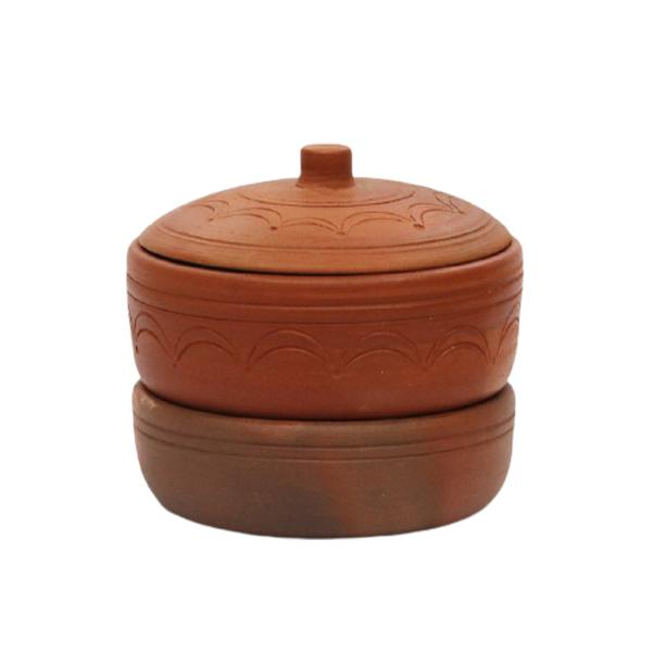 Ulamart Clay Sprouting Pot With Lid
