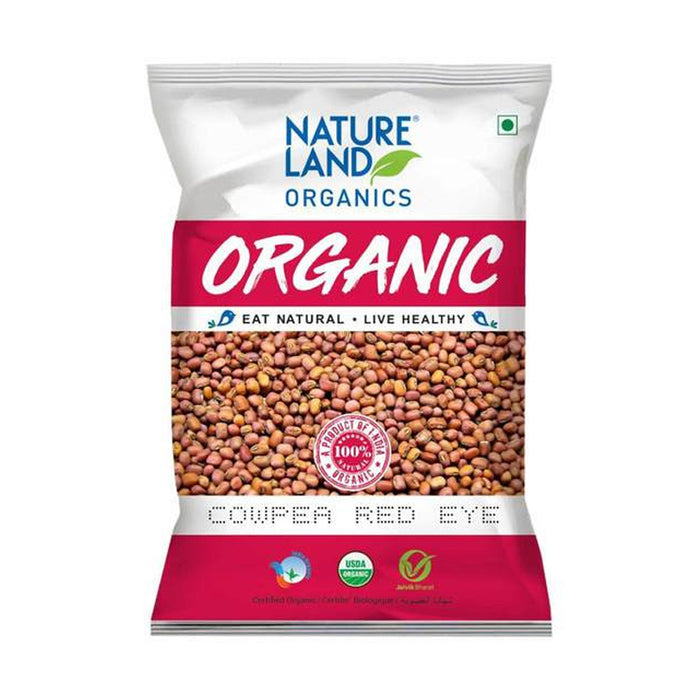 Natureland Organics Cowpea Red 500 gm