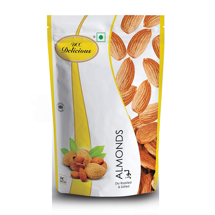 DCC Delicious Almond Roasted & Salted 80g