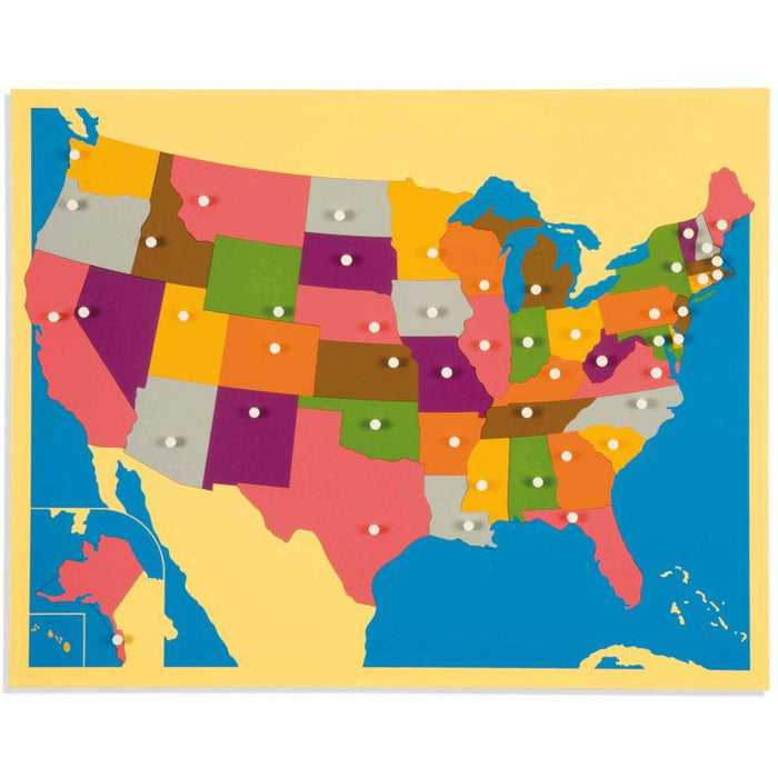 Map Puzzle - Usa