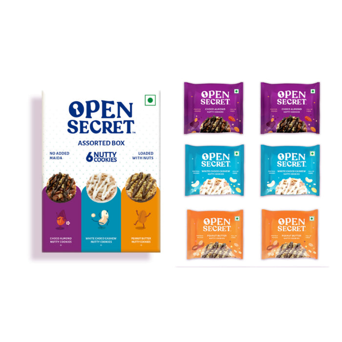 Open Secret Assorted Box Nutty Cookies 450g