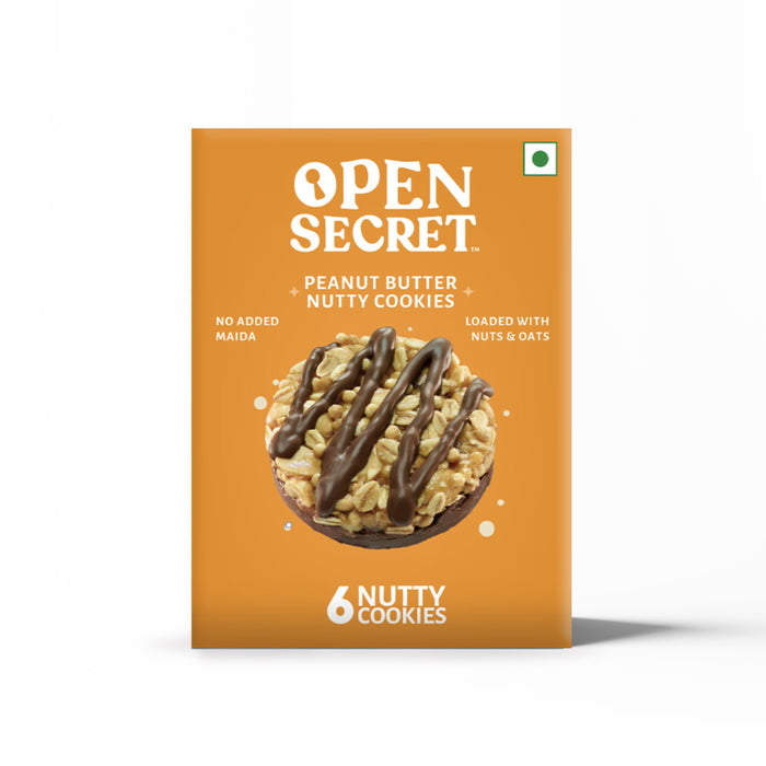 Open Secret Peanut Butter Nutty Cookies 450g