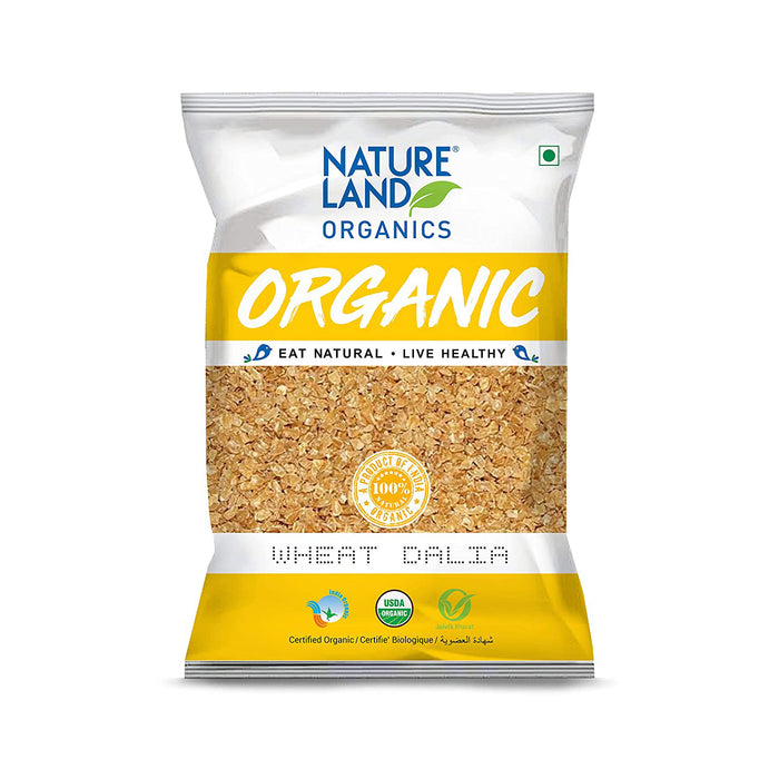 Natureland Organics Wheat Dalia Porridge 500 gm