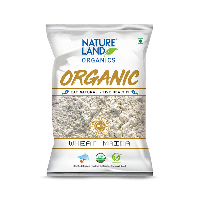 Natureland Organics Wheat Maida 500 gm