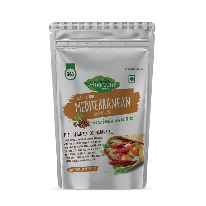 Wingreens All in One Mediterranean Seasoning - 50gm
