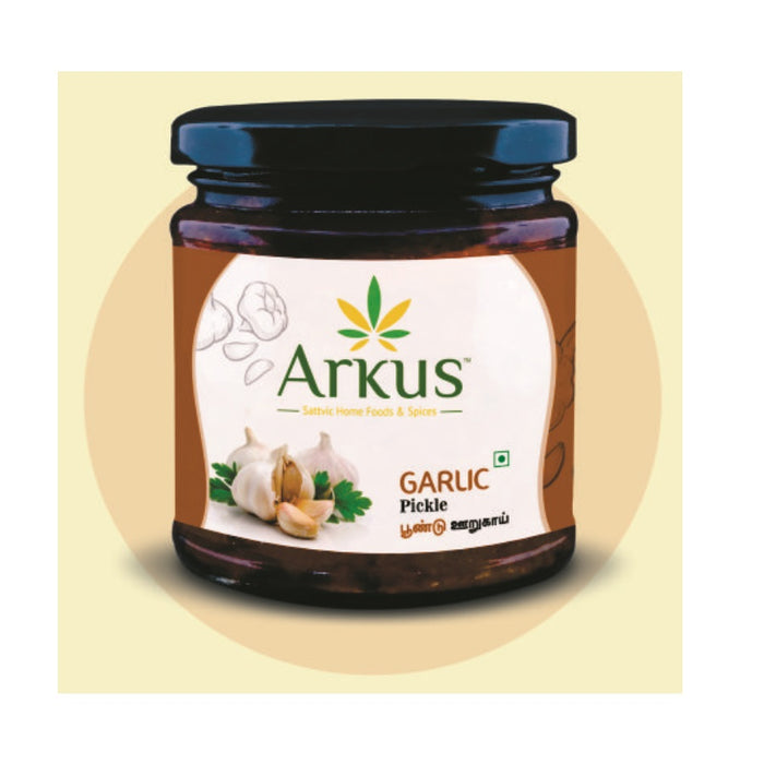 Arkus Garlic Pickle - Poondu Urugaai - 200g