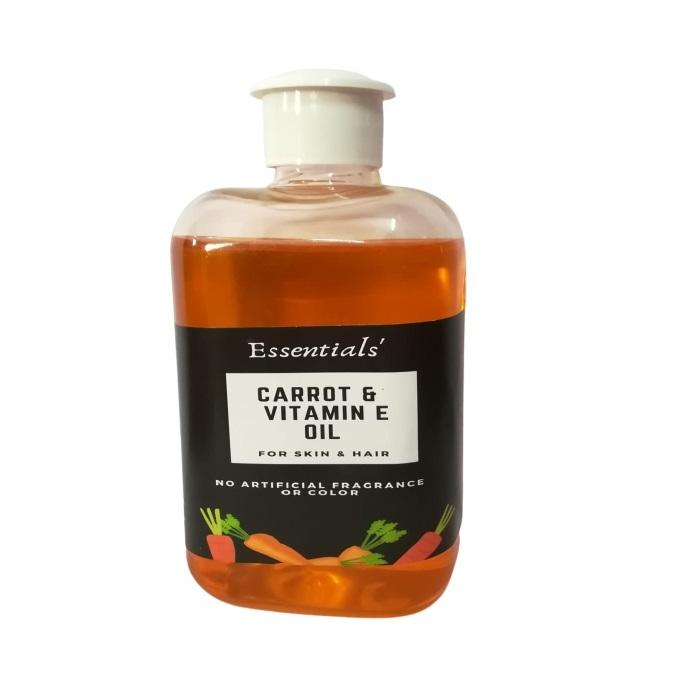 Essentials Carrot & Vitamin Oils 100ml