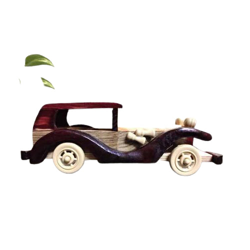 EthinicPip Chenpatna Wooden Vintage Car For Kids Or Home Decor