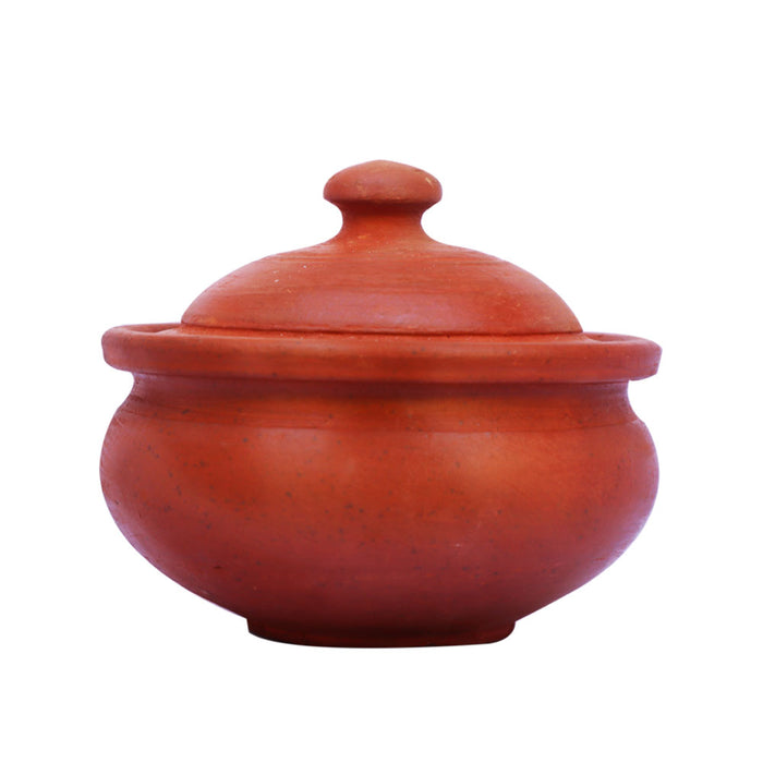 Clay Brinyani Pot with Lid