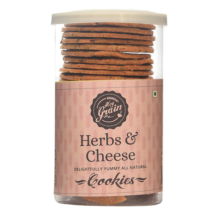 Hey Grain Herbs and Cheese 120G