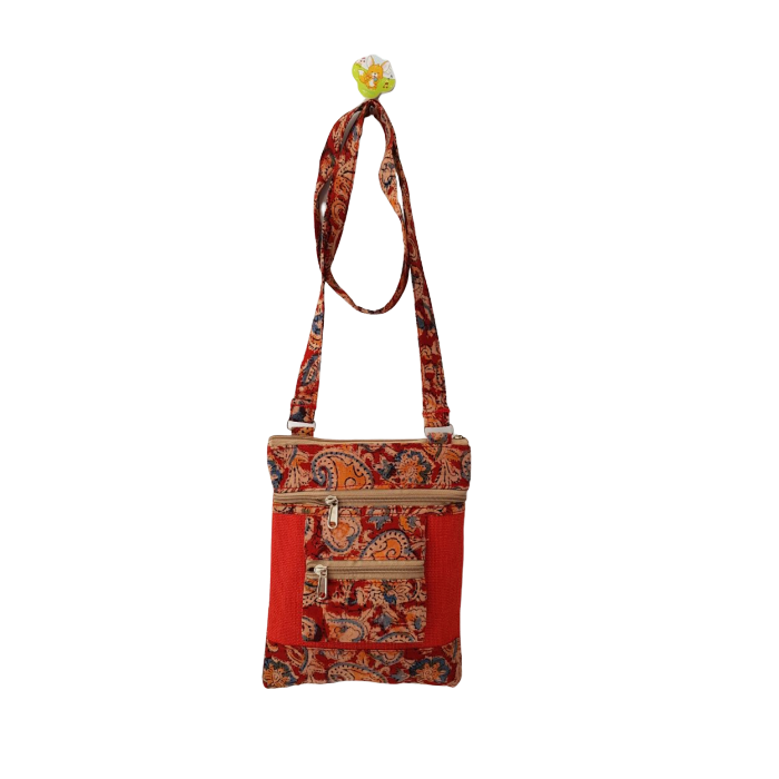 Kalamkari Ladies Sling Bag
