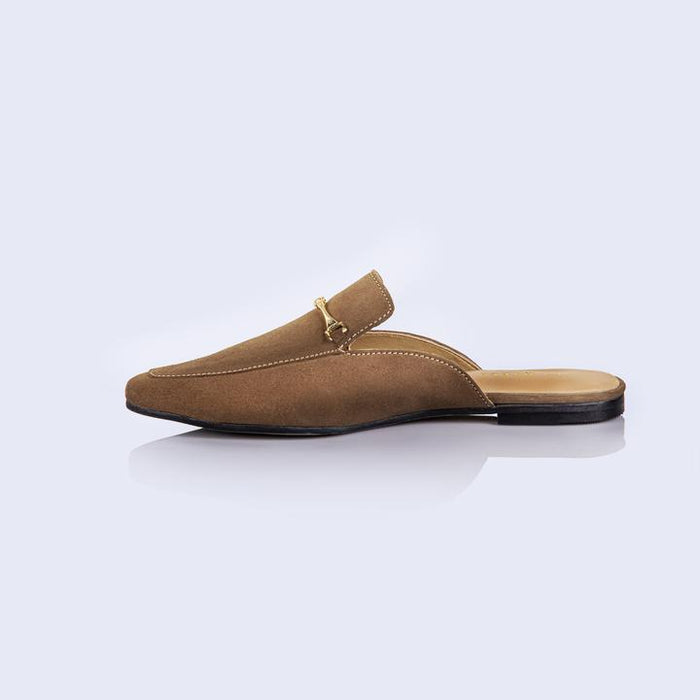 Madona Semi Formal Shoes Sandle Beige