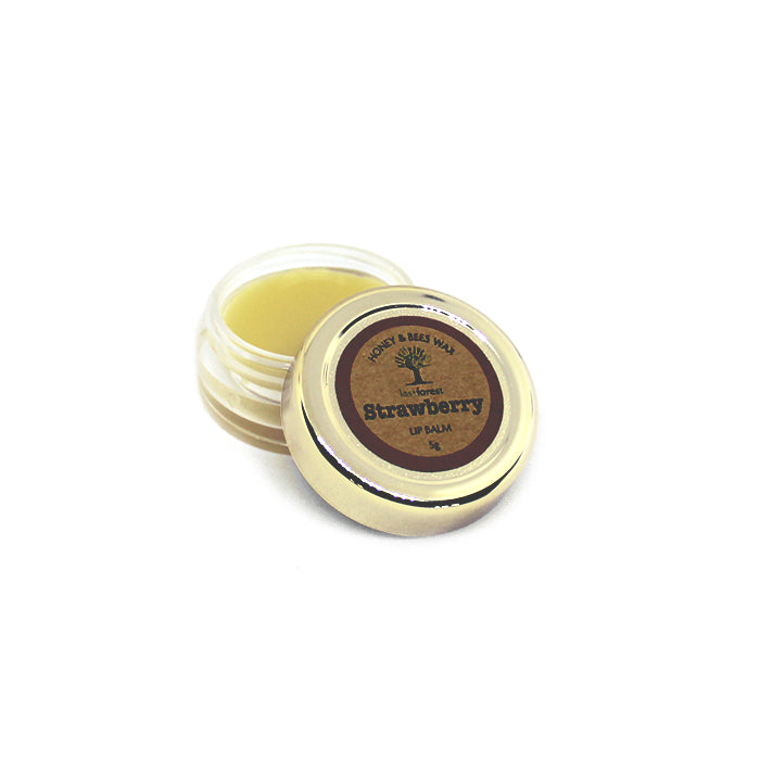 Nilgiris Beeswax Lip Balm Strawberry-Last Forest